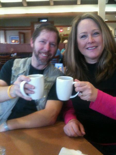 @DougDowen and I carpe'-ing the java
