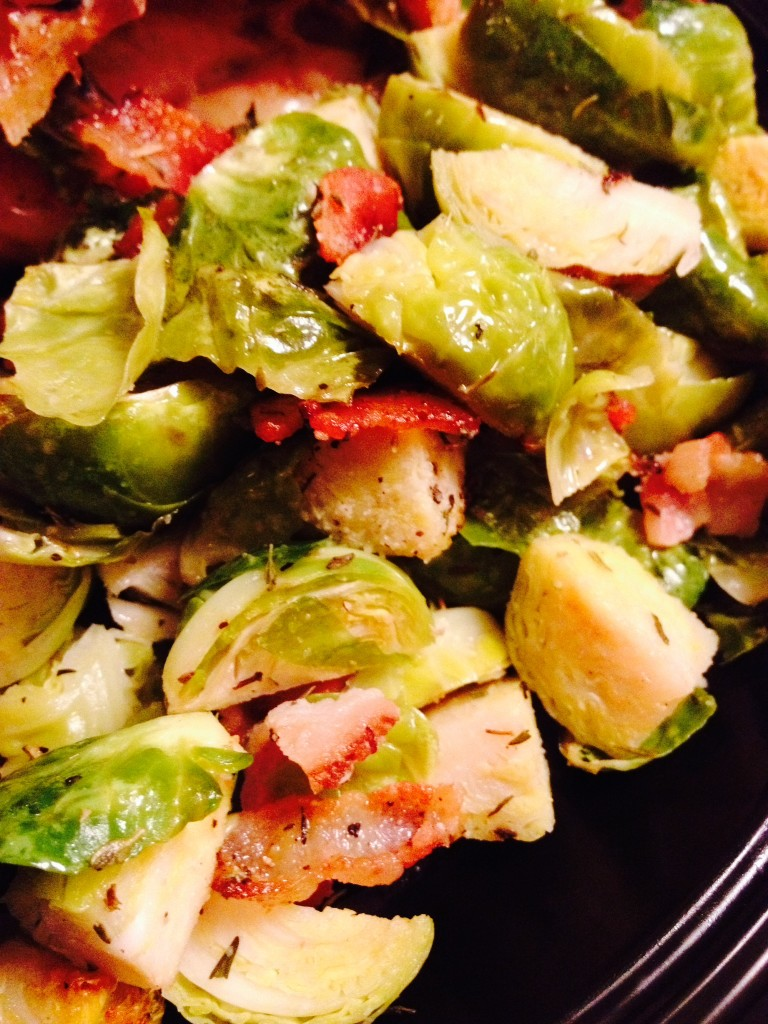 Brussels Sprouts N Bacon