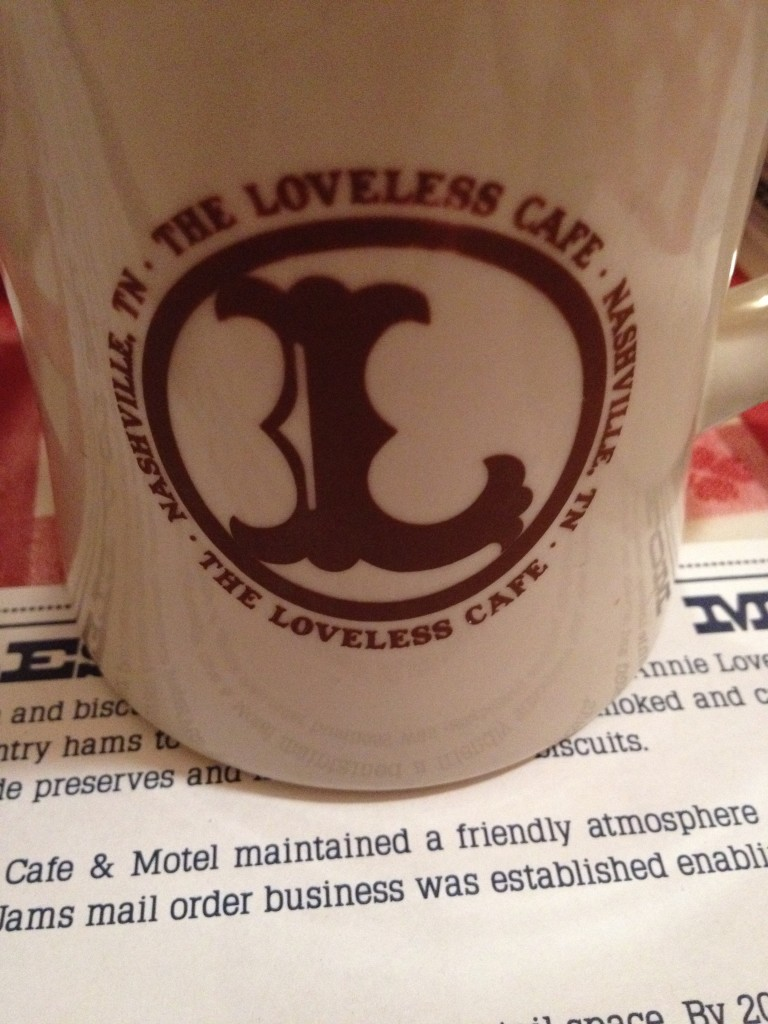 coffee at Loveless