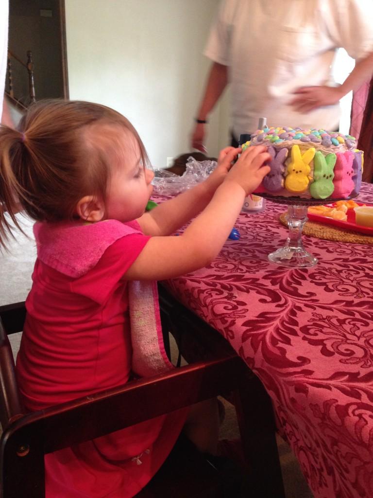 Glambaby Easter Cake